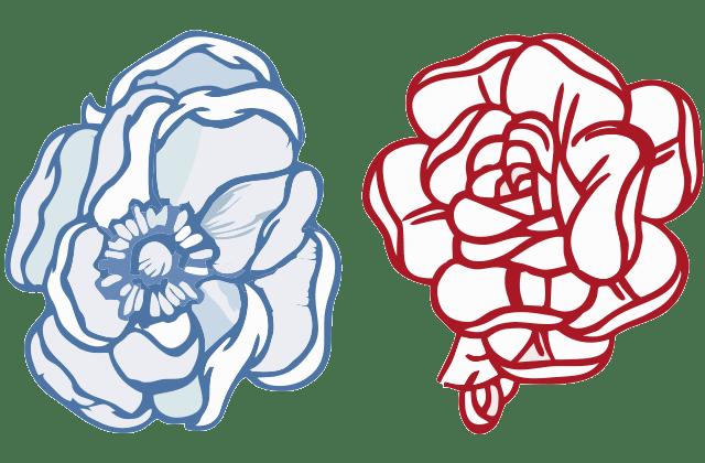 Motif Bunga Bordir Komputer