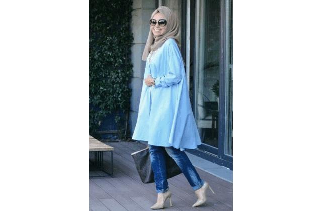 Model Baju Muslim Wanita Sedang Hamil