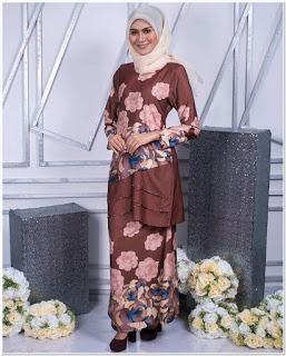 Aneka Model Baju Kurung Modern Cantik Terbaru