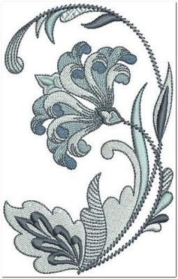 Gambar untuk motif bordir bunga