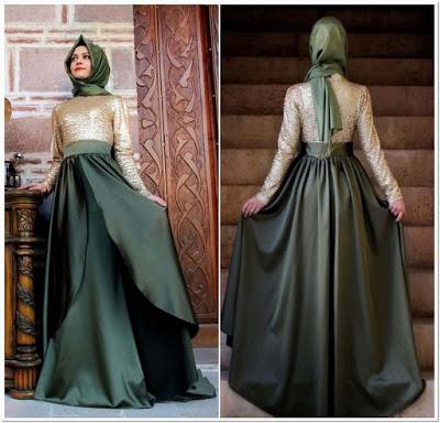 Gaun Pesta Muslimah Paling Elegan
