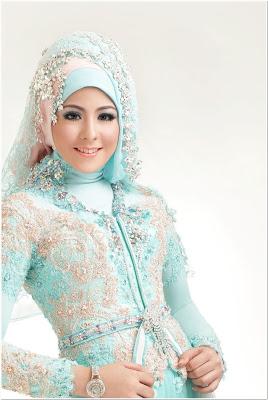 Hijab Pengantin Yang Berwajah Bulat