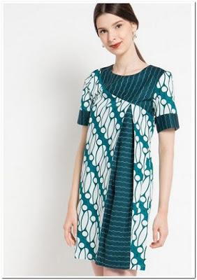 Model Baju Batik Casual Elegan