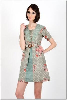 Baju Batik Casual Elegan
