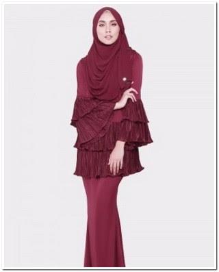 Baju kurung melayu malaysia modern