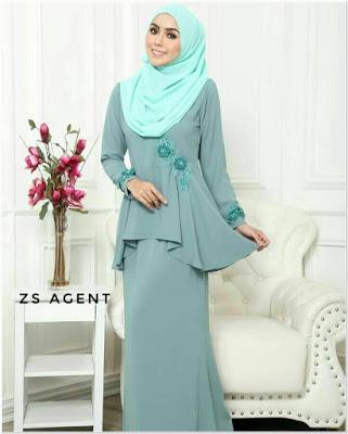 Contoh Baju Kurung Melayu Modern