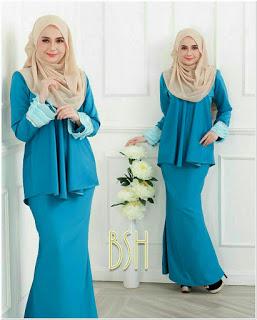 Baju Kurung Melayu Cantik Modern