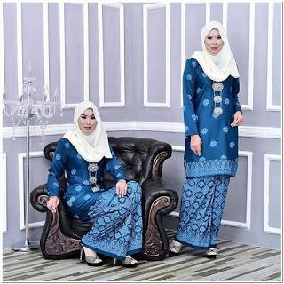 Baju Kurung Melayu Modern Untuk Pesta