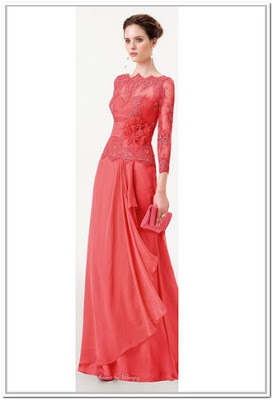 Model baju kain renda cantik untuk pesta
