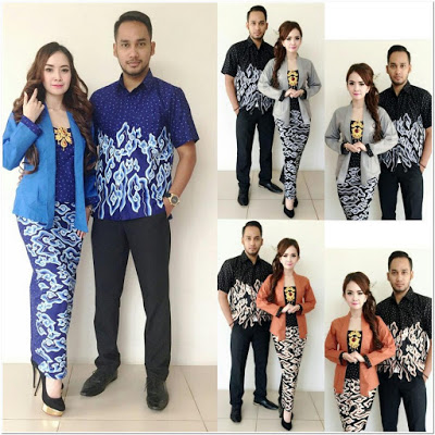 Model Kebaya Kutubaru Couple Cantik