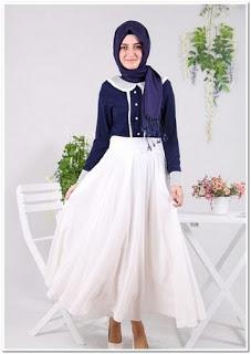Baju kondangan simple muslim