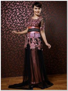 Model baju pesta kain rendah