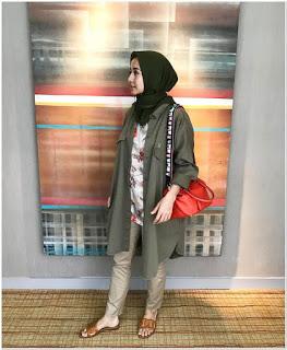Busana hijab laudya cintya bella