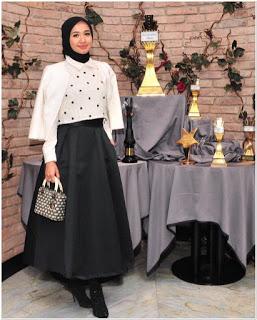 Gaya pakaian hijab laudya chintya bella