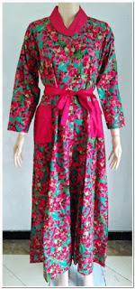 Model baju gamis katun jepang
