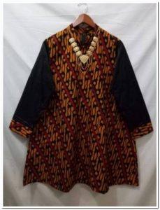 Aneka Baju atasan batik untuk wanita gemuk
