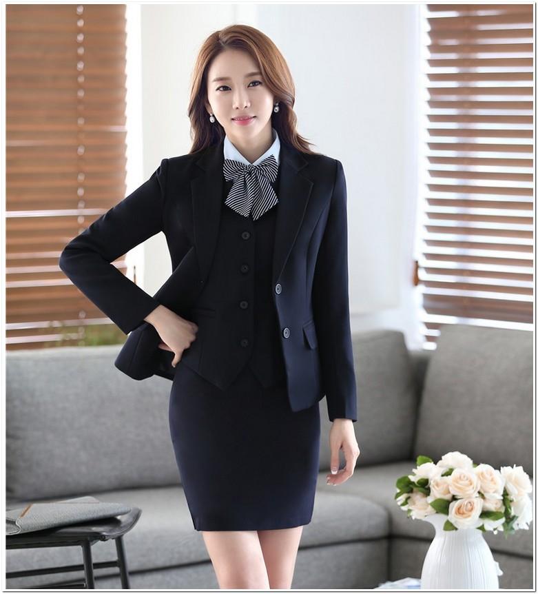 Contoh baju kerja wanita blazer