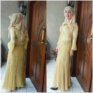 Contoh kebaya dress hijab cantik