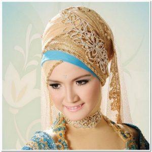 Foto kerudung Aneka pengantin muslim modern