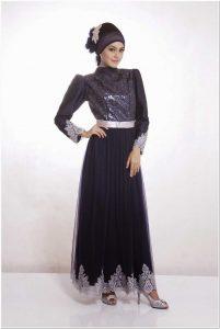 Gambar kebaya dress hijab terbaru