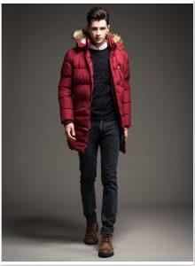 Jaket korea pria untuk musim dingin