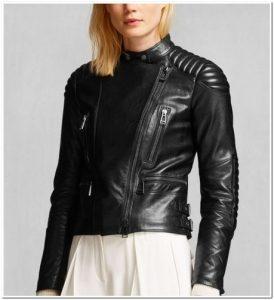 ragam model Jaket kulit wanita model terbaru