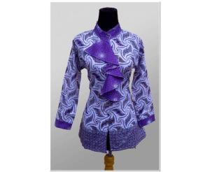 Model Baju Batik Untuk Kerja Kantoran Terbaik