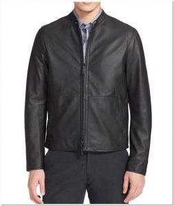 model jaket kulit kombinasi