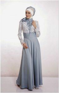 Contoh Model baju kebaya dress hijab