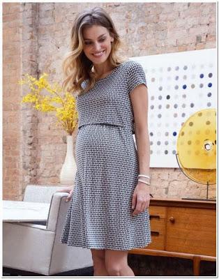 Baju yang cocok untuk ibu hamil muda