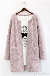 Aneka Sweater rajut polos untuk wanita