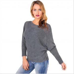 Sweater rajut polos wanita terbaru kekinian