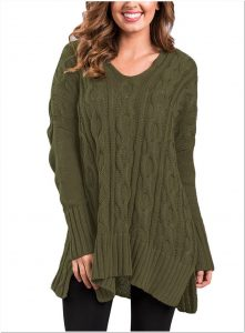Koleksi Sweater rajut wanita dewasa terbaru