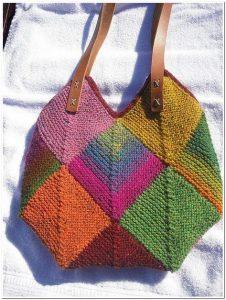 tas rajut cantik Simple Wanita Untuk Jalan-Jalan 4