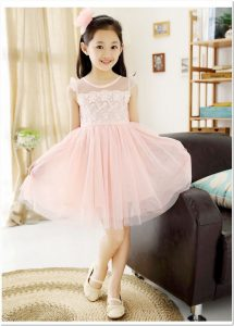 baju pesta anak perempuan princess imut