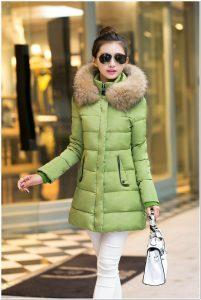 jaket ukuran panjang wanita korea