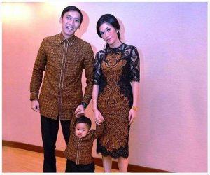 Model baju batik casual untuk ke pesta pernikahan