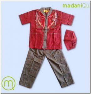 Contoh Model baju koko anak usia 5 tahun