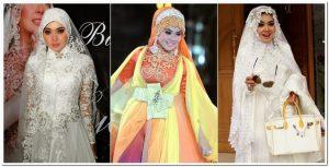 Model baju lebaran style syahrini