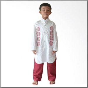 Koleksi Baju koko untuk anak laki laki warna putih