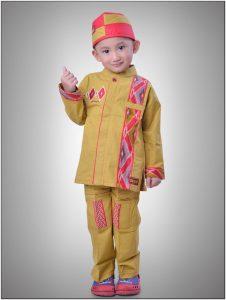 Model baju koko untuk anak yang lucu