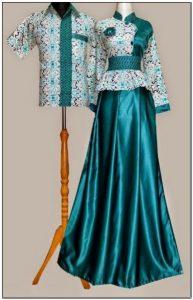 Baju gamis batik cantik