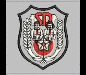 Jasa Bikin Bordir Logo Sekolah