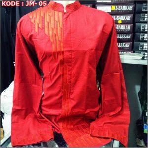 Aneka Model Baju koko warna merah
