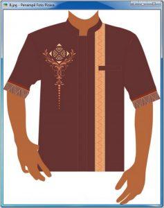 Model Desain Baju Koko Pria Terbaru