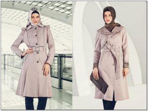 Ragam Model baju kerja wanita gemuk berjilbab dengan tas