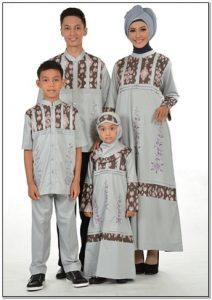 Contoh Model baju lebaran terbaru untuk keluarga
