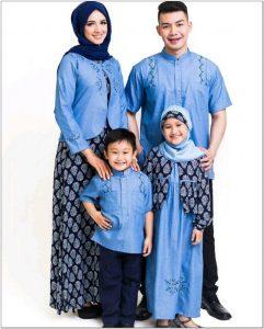 Aneka Model baju muslim keluarga buat lebaran
