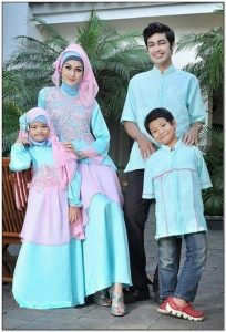 Ragam Model baju seragam lebaran untuk keluarga