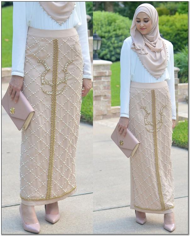 Style baju hijab untuk kondangan elegan